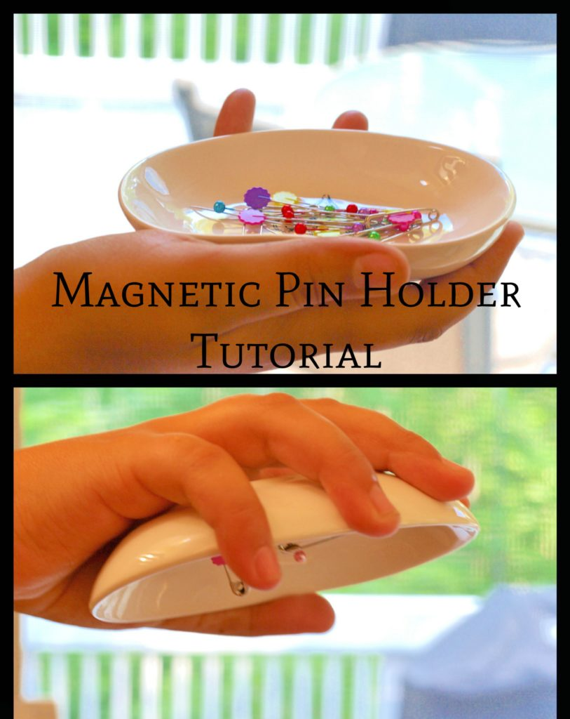 Magnetic Pin Holder Tutorial - createwithclaudia.com