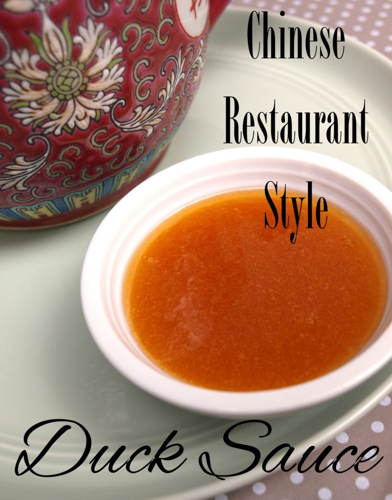 Chinese Restaurant Style Duck Sauce Recipe - createwithclaudia.com