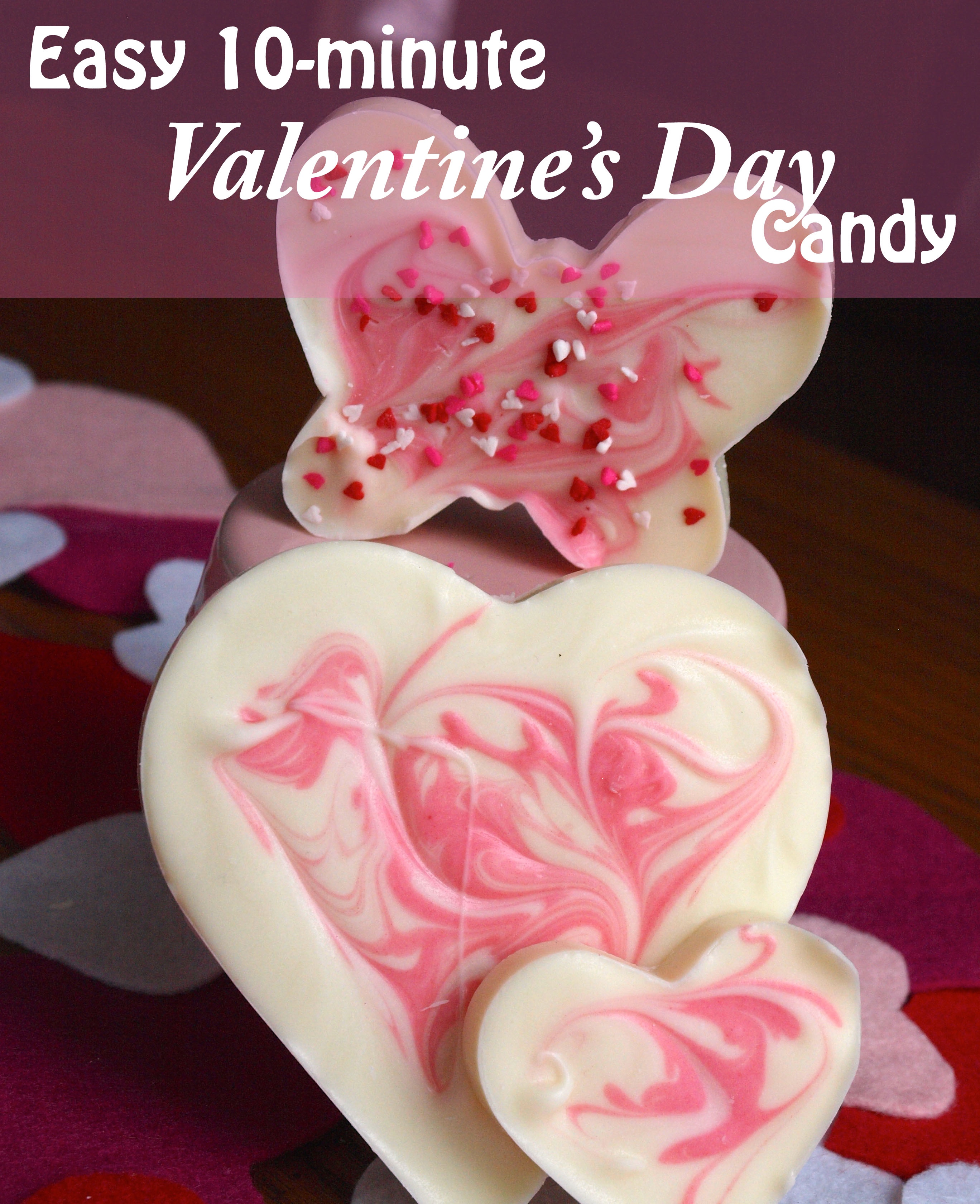Easy Valentine's Candy Recipe - createwithclaudia.com
