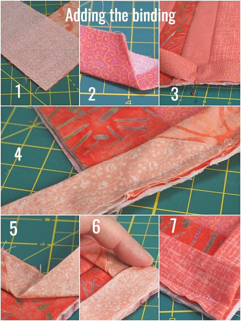 Ombré (Gradient) Quilt-As-You-Go Table Runner Tutorial - createwithclaudia.com