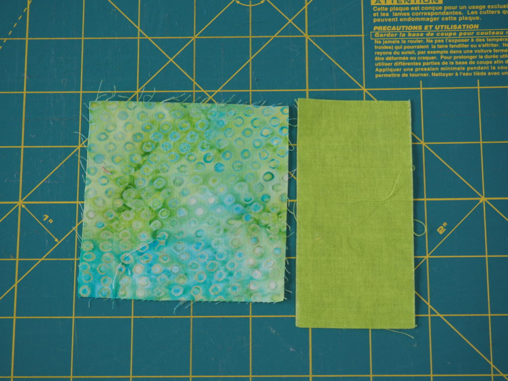 DIY tutorial on how to create fabric yardage out of scrap fabric pieces.  createwithclaudia.com