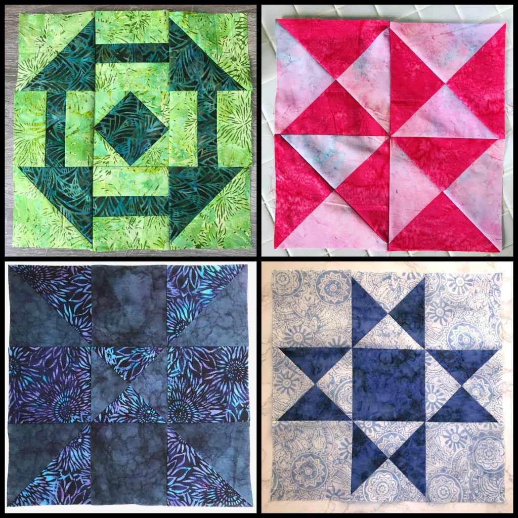 April Block for the Patterns By Jen 2019 Monthly Color Challenge - createwithclaudia