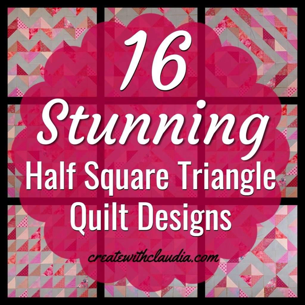 Half Square Triangle Patterns