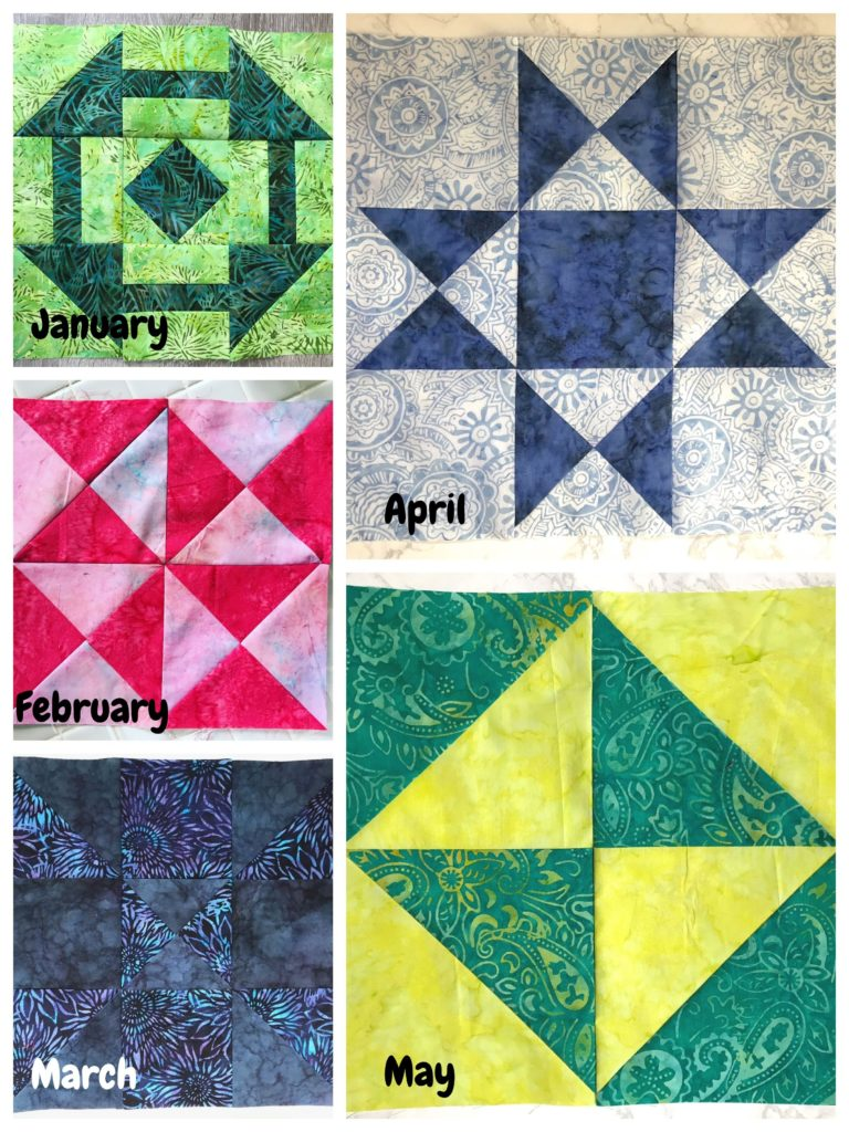 May Entry for the Patterns by Jen 2019 Monthly Color Challenge - createwithclaudia.com