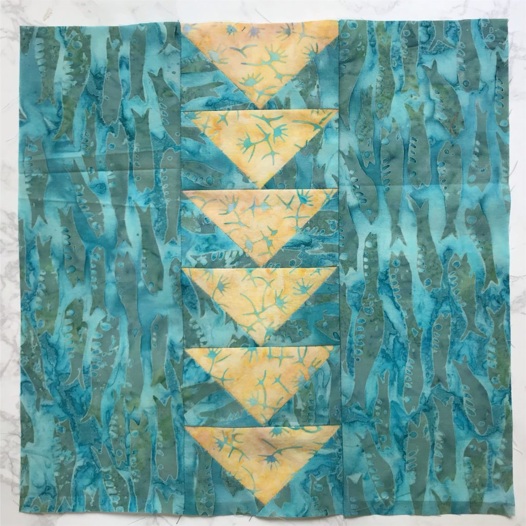 My July Entry for the Patterns by Jen 2019 Monthly Color Challenge - createwithclaudia.com - #quilting