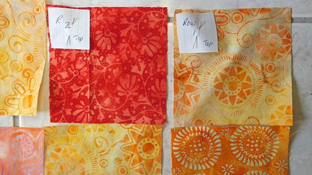 Numbering fabrics