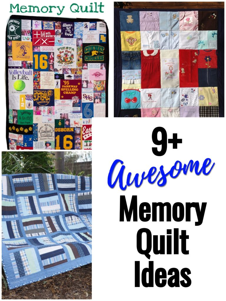Awesome Memory Quilt Ideas