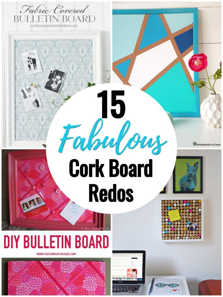 15 Fabulous Cork Board Redos