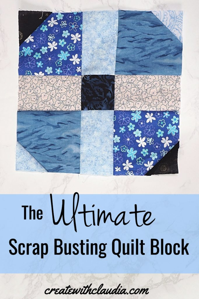 Ultimate Scrap Busting Quilt Block