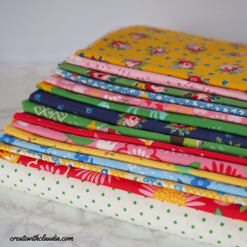 Fabric Pull - Create with Claudia 2020 Mystery Quilt Along