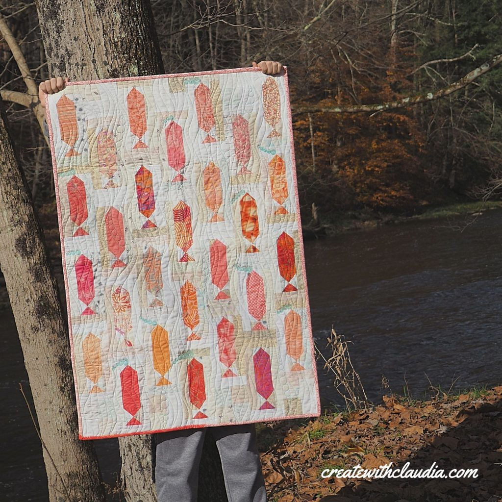 Swimming Upstream Quilt Pattern - Free Pattern