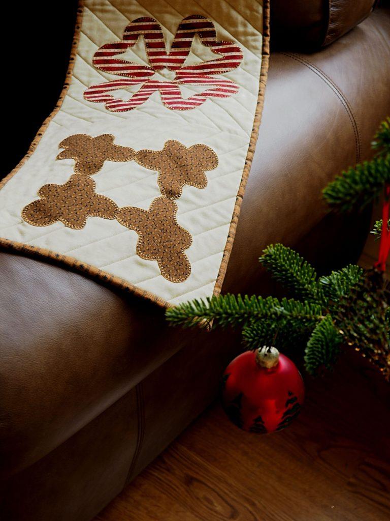 Gingerbread Cookie Cutter Cutout Quilt Block Tutorial