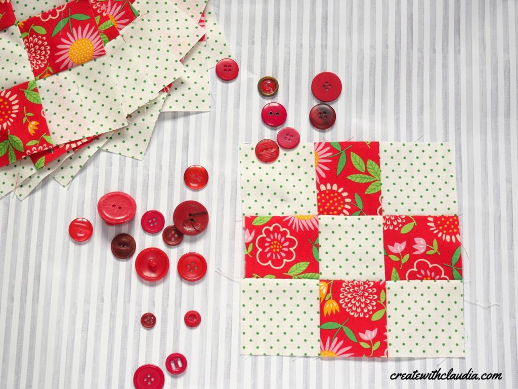 Create with Claudia 202 Mystery Quilt Along January Block #createwithclaudiaqal