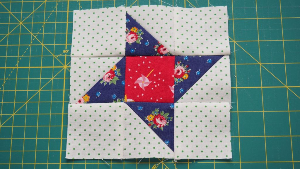 Friendship star is the 3rd block in the 2020 create with claudia mystery quilt along