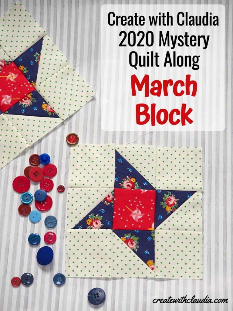 March Mystery Block Instructions