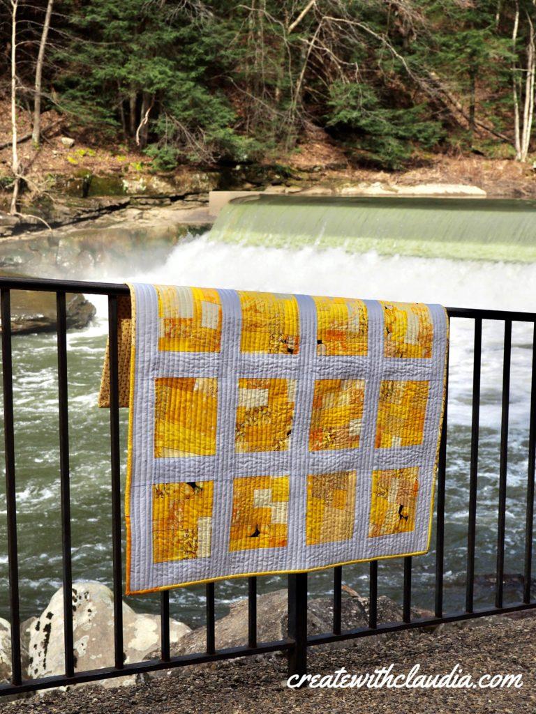 Modern Baby Crazy Quilt Pattern - Free Quilt Pattern