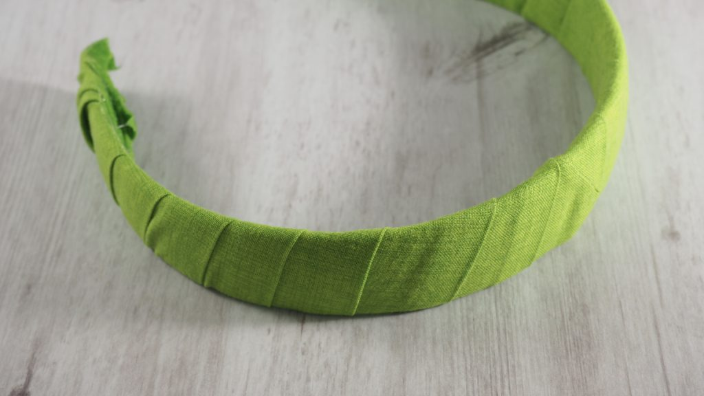 How to Make a Scrap Fabric Covered Headband