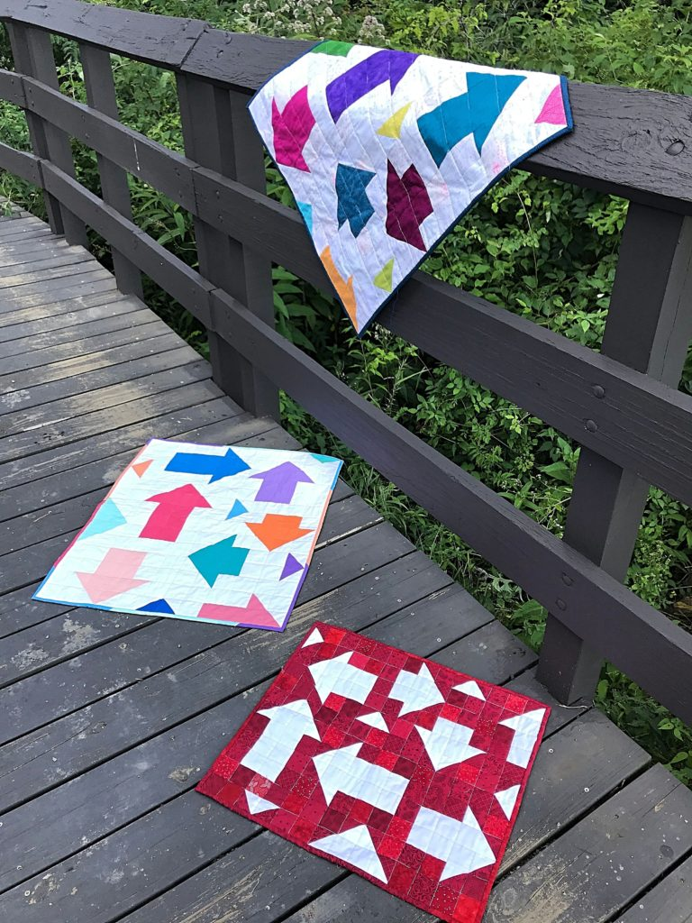 Free Modern Wall Quilt Pattern
