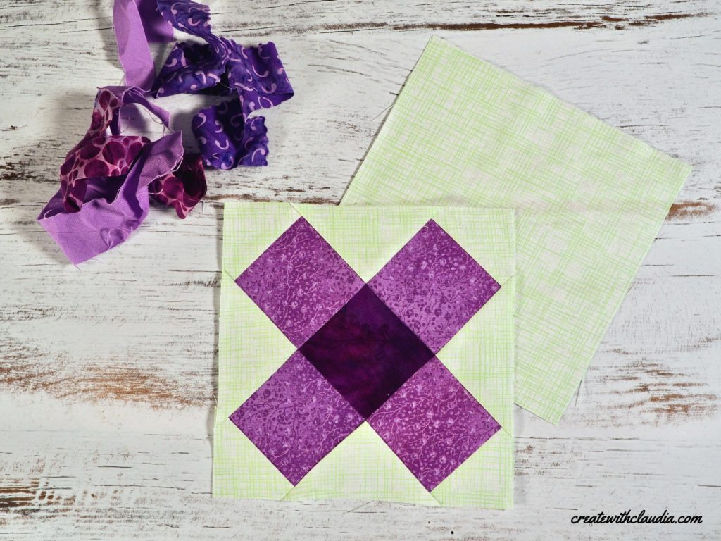 How to make a mosaic quilt block