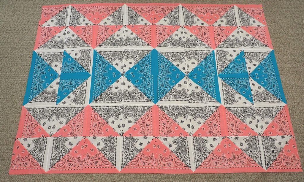 How to make a bandana quilt