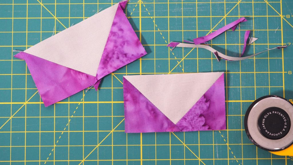 Making the flying geese