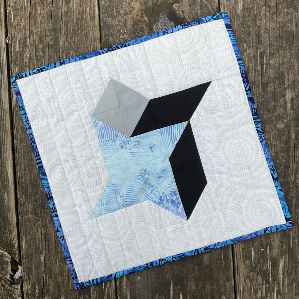 3D Friendship Star Mini Quilt - Create for a Cause Quilt