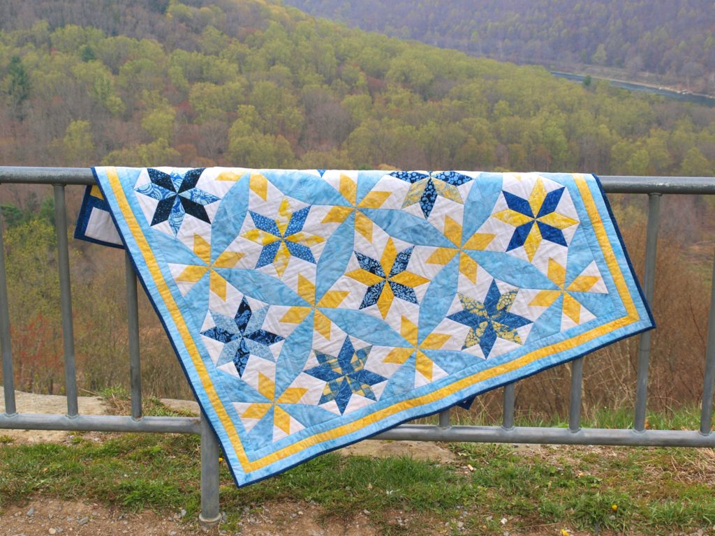 quilting with the accuquilt